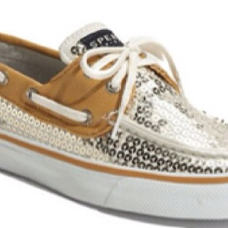 Sperry Top Sider Bahama Sequined Boat Shoe