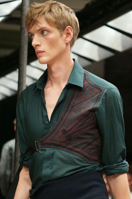 Dries Van Noten, Spring 2015 Menswear Collection