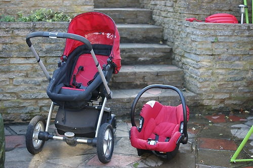Mothercare My4-wheeler Pram & Pushchair and carseat