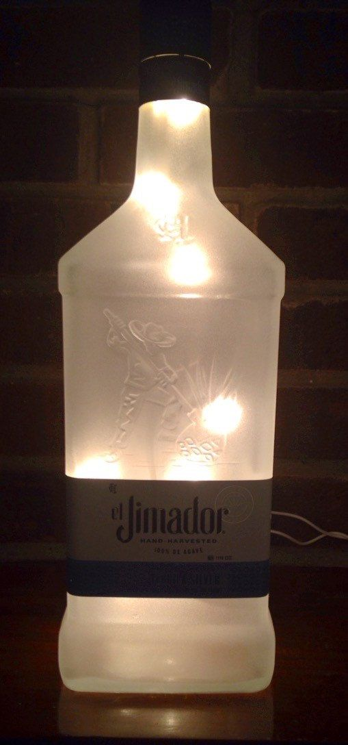 el Jimador Tequila Silver Frosted Lighted by Lightitupcreations