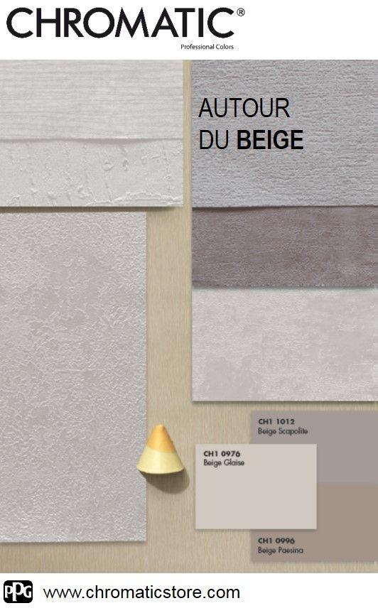 Les 54 meilleures images du tableau chromatic du beige au brun sur pinterest palettes de - Cuisine beige et gris ...