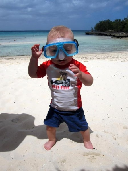 Beach Babe. Submitted by: Patricia Demidas @babycenter #bigdayout #getoutside