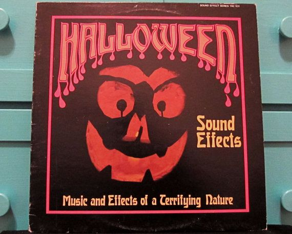 Halloween Sound Effects  Vinyl Record by RougarouRecords on Etsy