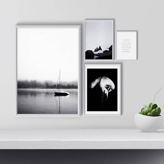 Hey, I found this really awesome Etsy listing at https://www.etsy.com/listing/586532133/gallery-wall-art-set-black-and-white