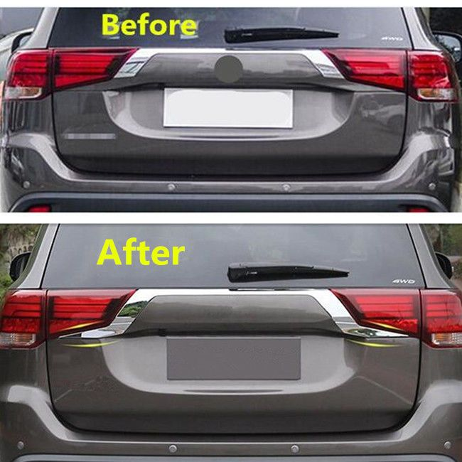 nice Awesome Rear Door Trunk Lid Cover Trim 2PCS For Mitsubishi Outlander 2016 2017 2018 2017/2018 Check more at http://24carshop.com/product/awesome-rear-door-trunk-lid-cover-trim-2pcs-for-mitsubishi-outlander-2016-2017-2018-20172018/
