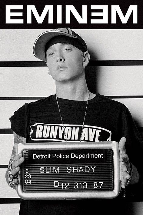 Eminem ||||| Slim Shady ||||| Marshall Bruce Mathers
