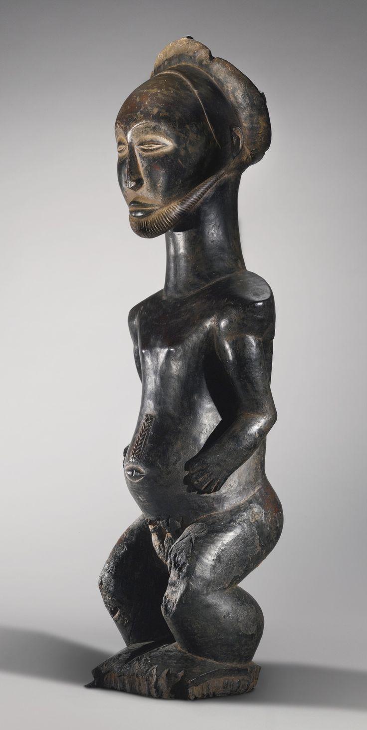 Hemba Male Ancestor Statue, Democratic Republic of the Congo | lot | Sotheby's