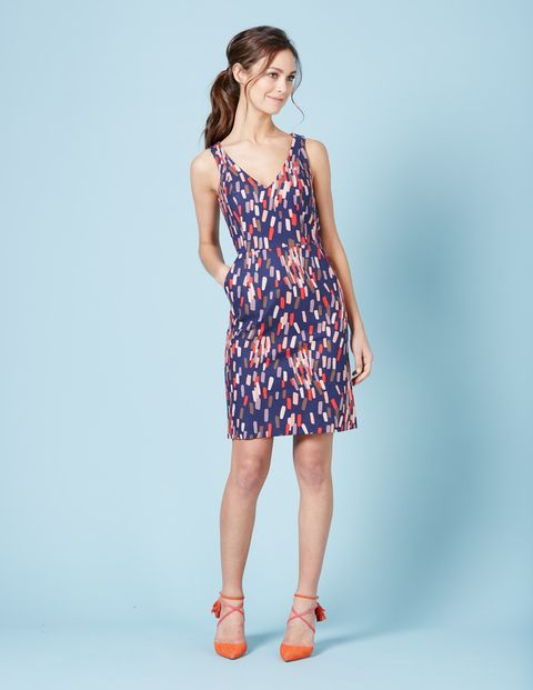 I like this style & cut, not so much this pattern.  Textured Emma Dress WW033 Smart Day at Boden