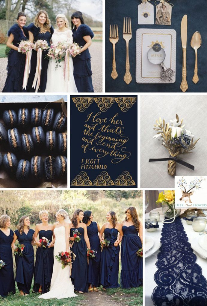 Navy Blue Wedding Theme Image Collections Wedding Decoration Ideas