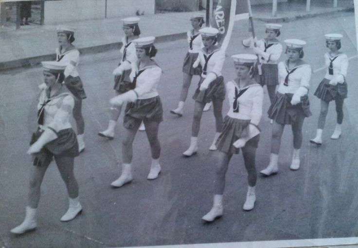 'THE SAEFARERS' Girls  Marching Team. Port Adelaide South Australia