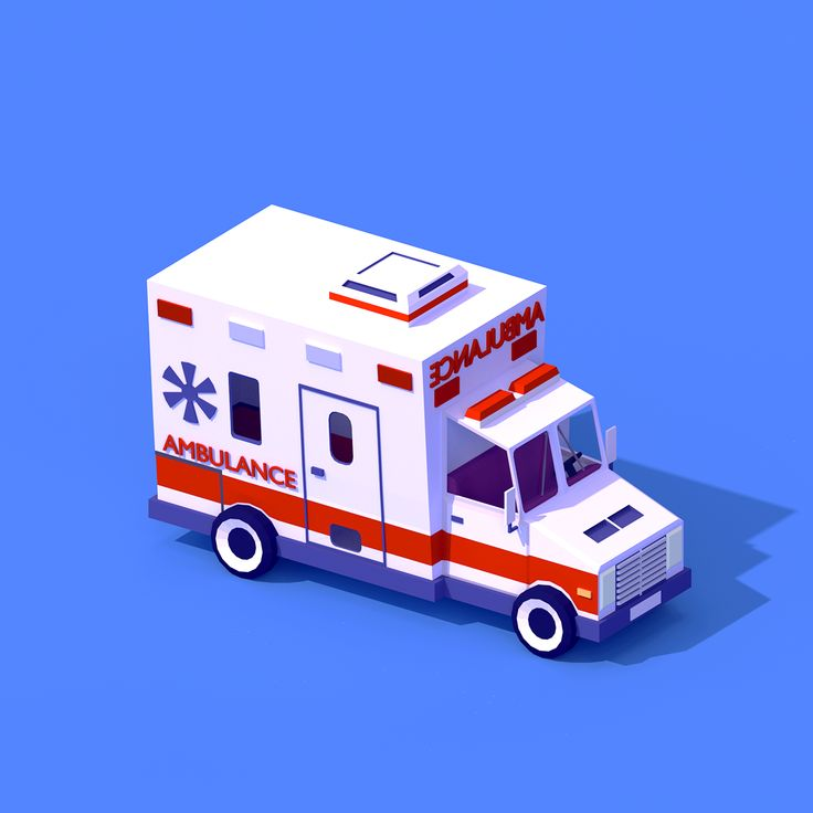 My third Low Poly Car for Portfolio and game project)