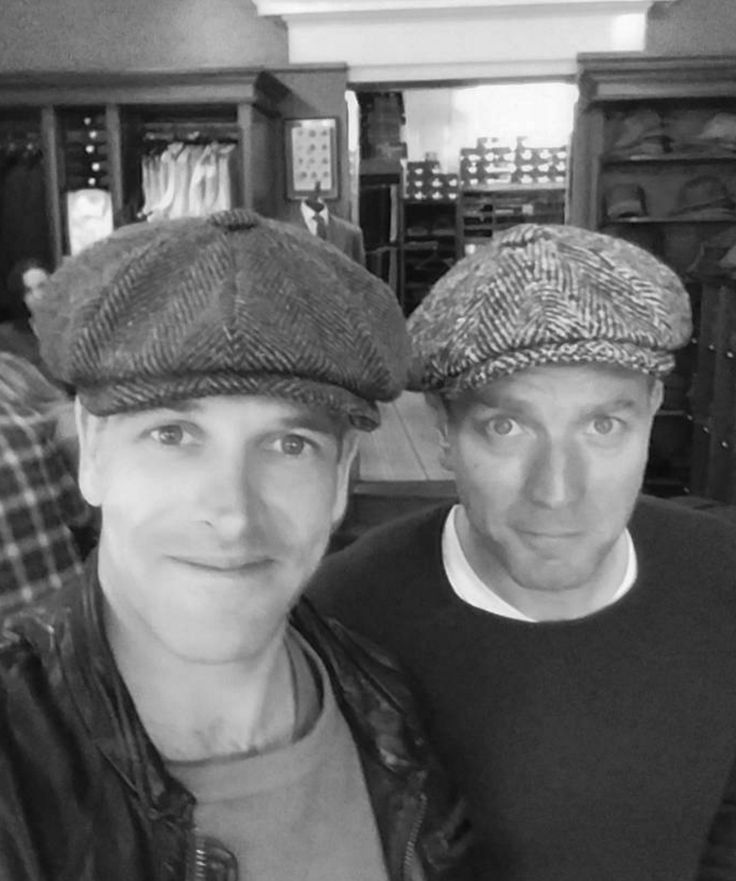 Johnny Lee Miller and Ewan McGregor on the set of T2. Catch it on 27th January 2017 #trainspotting