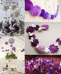 purple ideas for budget weddings