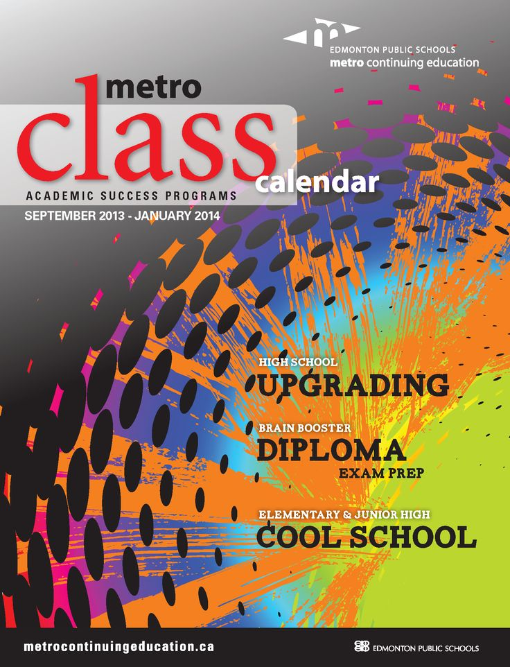 Our Academic Success Programs Fall 2013 class calendar has just been released!! Browse the September 2013 - January 2014 courses and programs for students in Grades 1-12 as well as adult learners.