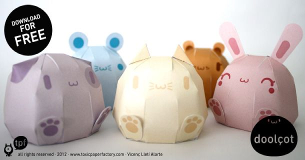 Blog_Paper_Toy_papertoys_Doolcot_TPF