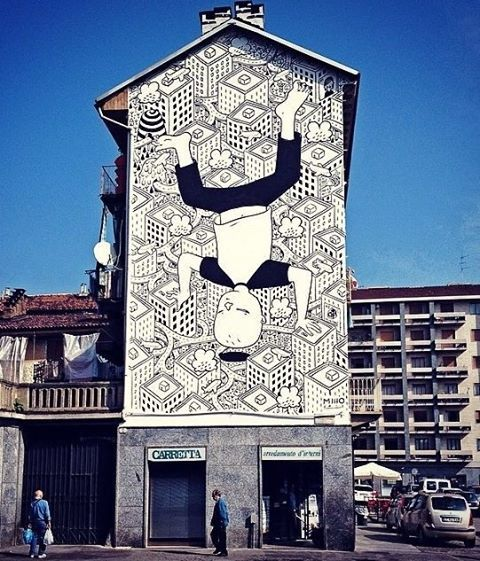 Best Street Art Images On Pinterest Drawings Brittany And - Spanish street artist transforms building facades into amazing artworks