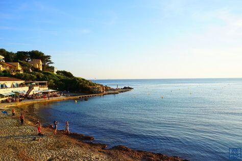 Le Chameau Bleu - La plage de Portissol