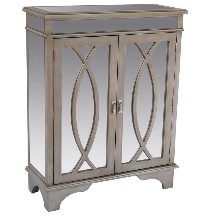 """""""Good evening, Mr. Gatsby, please allow me to take your coat...""""   http://worldwidehomefurnishingsinc.com/fiona-console-cabinet-in-antique-silver.html"""