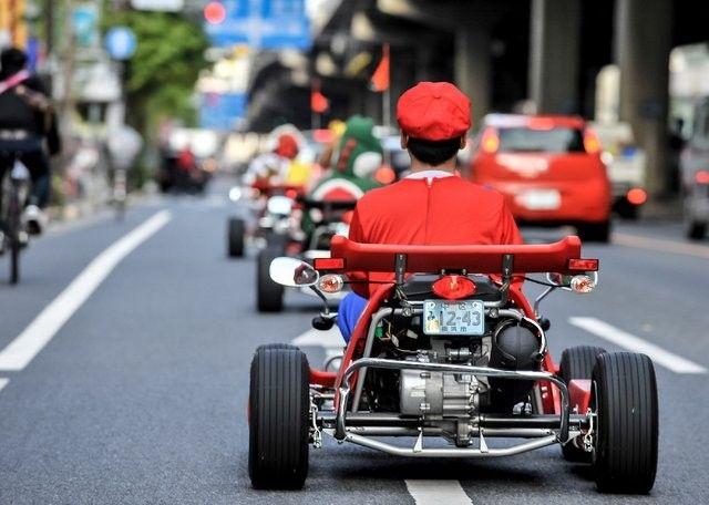話題沸騰中!『リアルマリオカート』で東京を爆走するのが楽しすぎる! | RETRIP