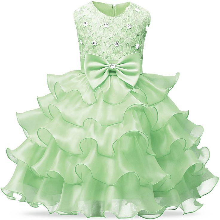 New svatebním Princess Část šaty pro batolata dívky Oblečení pro dívky Šaty Děti tutu šaty Dětské oblečení narozeniny 6 7 8