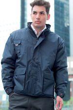 PAGAMENTO ANCHE ALLA CONSEGNA Giubotto Invernale da Lavoro Uomo Impermeabile maniche staccabili Abbigliamento