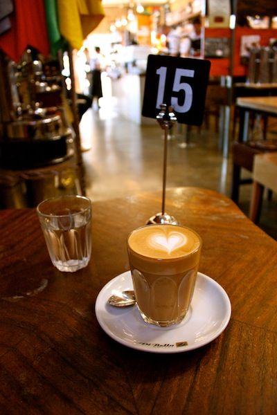the Melbourne coffee scene