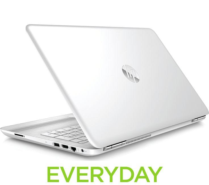 """HP Pavilion 15-au076sa 15.6"""" Laptop - White"""