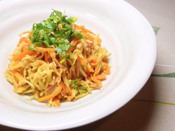 切り干し大根の炒め煮 カレー風味 | Y+I Kitchen