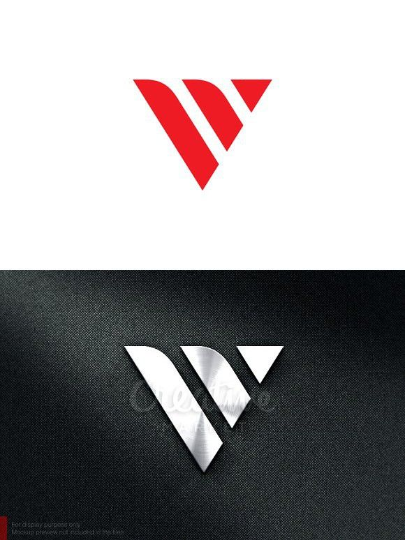 Letter V Logo Initials Logo Design V Logo Design Lettering Design