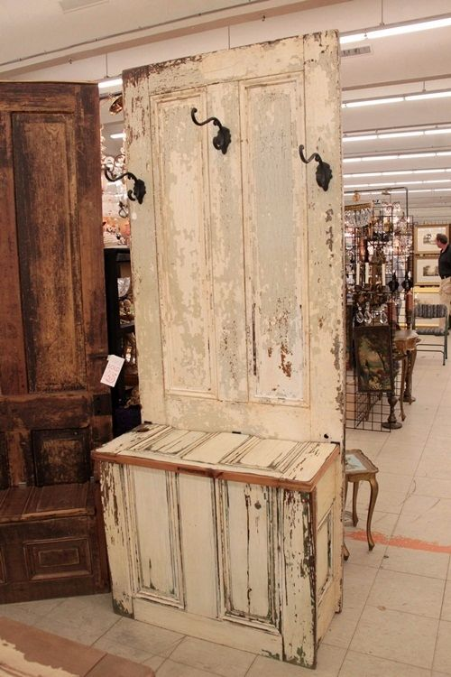 Old doors...........new piece of furniture