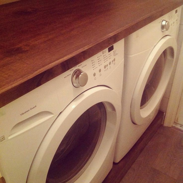 Wood Countertop For Laundry Room Dyi Home Projects