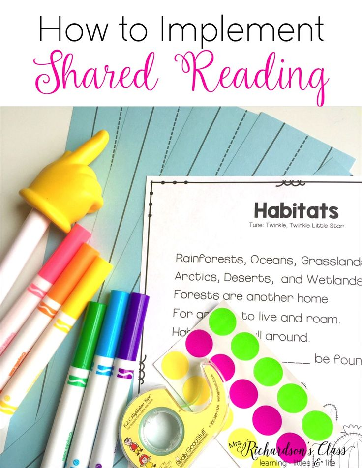 Shared reading is a valuable part of the balanced literacy approach. Because it takes up such a small amount of time, it often is left out. It's simple to implement and it absolutely is a favorite time for all in our classroom. Let's start with the basics… What is shared reading? Shared reading is a partMore