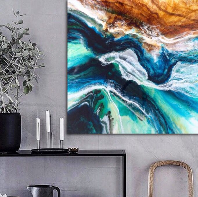 Dolphin Bay. Limited edition fine art canvas print. Available in the Martine Gallery.