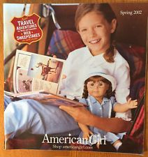 American Girl Catalog 2002 Spring Molly Kit Samantha Addy Kirsten Josefina Bitty