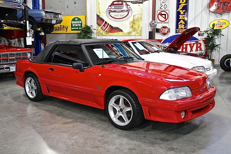 1991 Ford Mustang GT Convertible, SOLD!!!