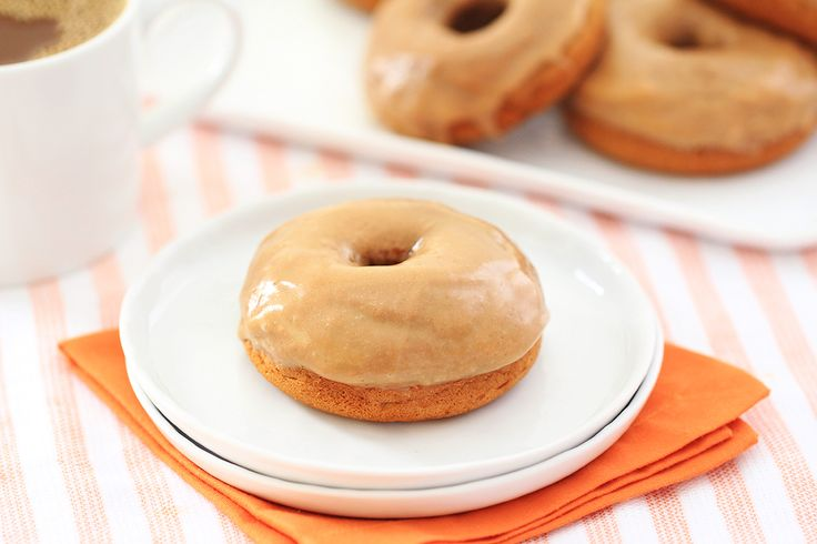 HG Healthy Iced Pumpkin Spice Donuts (spice cake mix, pumpkin puree, fat free cream cheese, powdered sugar)   hungry girl