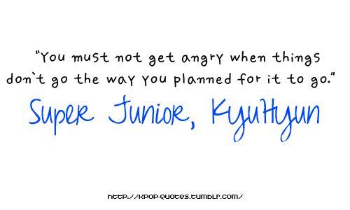 Inspirational Kpop Quotes: Kpop Quote- Super Junior's Kyuhyun