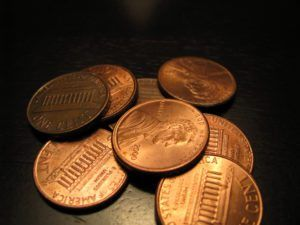 There's a rare 1983 copper penny (a 1983-D penny) worth $15,000 -- you could find one in your pocket change! Here's what to look for + Other rare copper pennies.