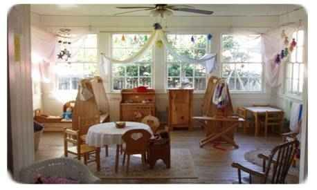 Waldorf Early Childhood Classroom - or the perfect play room!
