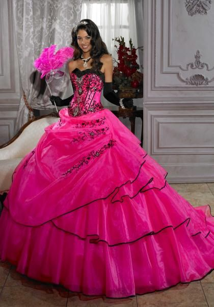 1000 Images About Pink Quinceanera Dresses On Pinterest