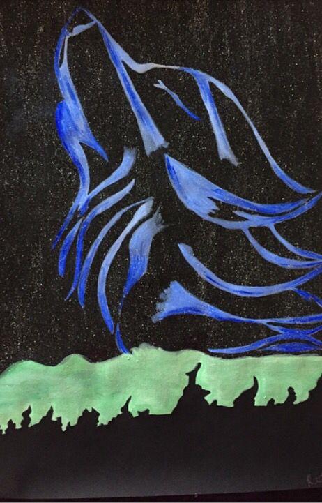 Spirit wolf from dragoart