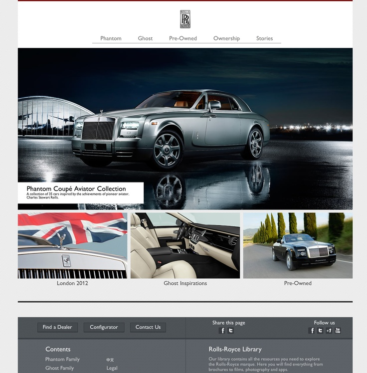 Rolls Royce Home Page