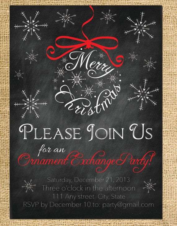 86 best Christmas card ideas images on Pinterest Christmas ideas - free xmas invitations
