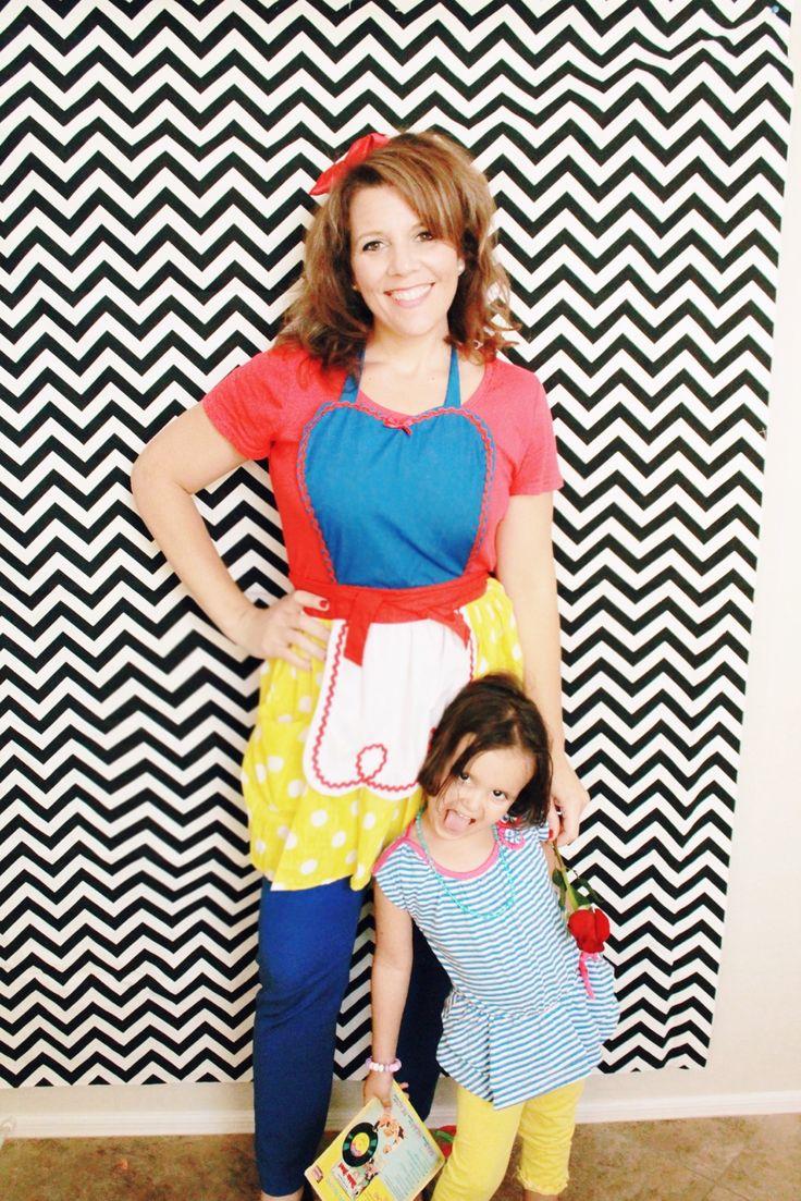 Snow white apron etsy - Lover Dovers Snow White Apron Etsy