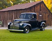 1946 chevy truck lowrider truck | AUT 14 RK1638 011946 Chevrolet Pickup Truck Black 3/4 Front View On ...