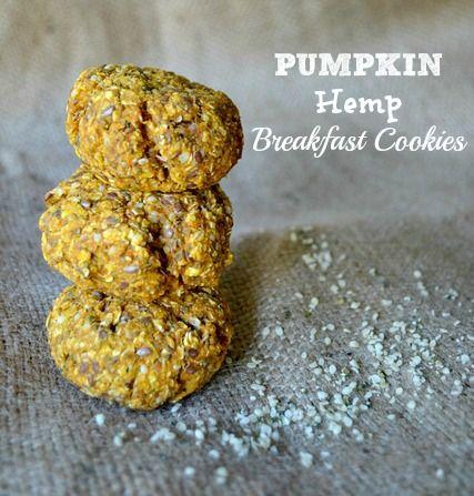 Pumpkin Hemp Breakfast Cookies | Food | Pinterest | Breakfast Cookies ...