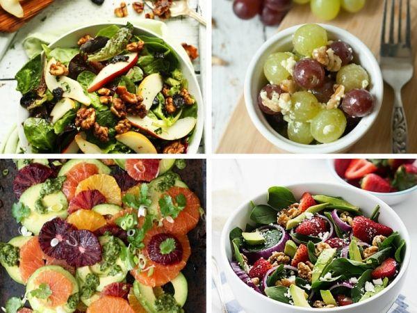 7 idee per insalate con la frutta secca
