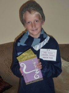 Charlie Bucket fancy dress costume (Charlie and the Chocolate Factory by Roald Dahl)