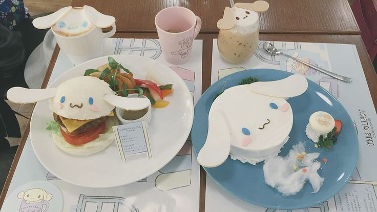 Kawaii Cinnamoroll Cafe (The Guest Cafe and Diner) at Shibuya Parco | http://the.rainbowholic.me/kawaii/kawaii-cinnamoroll-cafe-x-the-guest-cafe-and-diner-at-shibuya-parco/