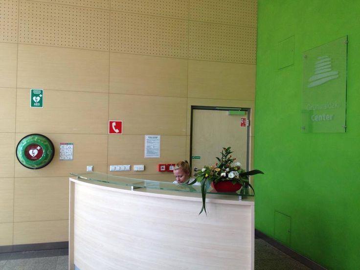 Grunwaldzki Center in Poland - Rotaid AED cabinet by Max Harter